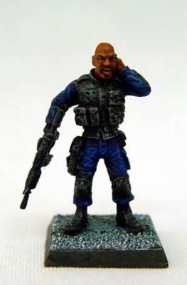 The Man- SWAT Team leader