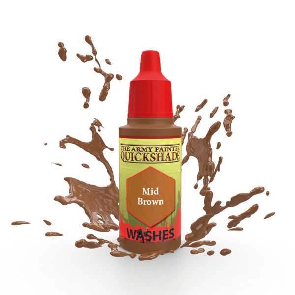 Warpaint: Mid Brown Wash 105