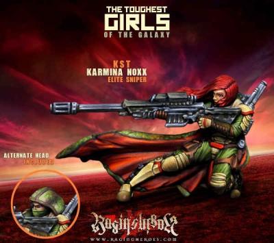 Karmina Noxx, Elite Sniper (KST)