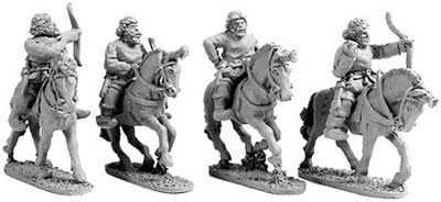 Parthyaian Horse Archers (random 4 of 4 designs)