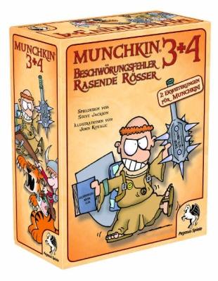 Munchkin 3+4