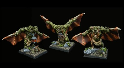 Drakskull's Menace Winged Abominations