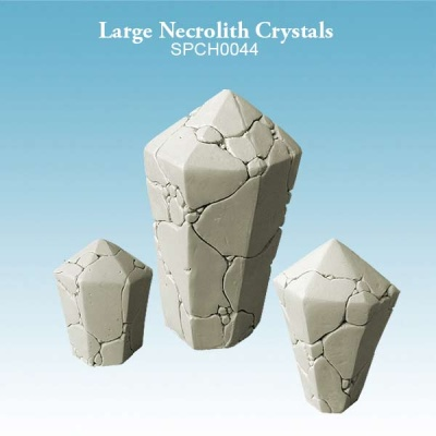 Large Necrolith Crystals (3)
