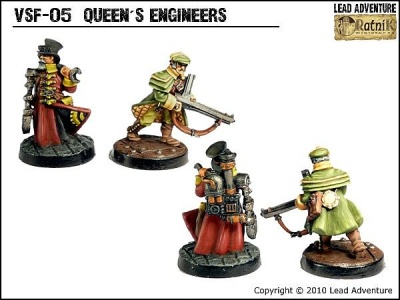 Queen's Engineers (2)
