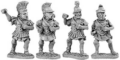 Hoplites in metal cuirass (Random 8 of 4 differen