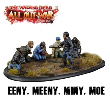 The Walking Dead: Eeny, Meeny, Miny, Moe (OOP)