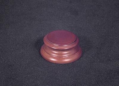 Runder Holzsockel (Durchmesser 30 mm) (OOP)