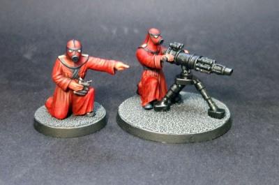Heavy Weapon Legionnaires