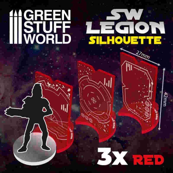 SW Legion Silhouette - Red