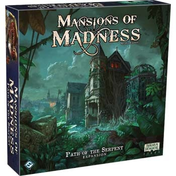 Mansions of Madness: Path of the Serpent Expansion - EN