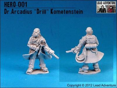 """Dr. Arcadius """"Drill"""" Kometenstein (1)"""