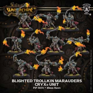 Cryx Blighted Trollkin Marauders