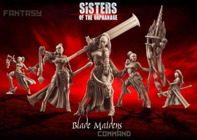 Blade Maidens - Command Group (SotO - F)