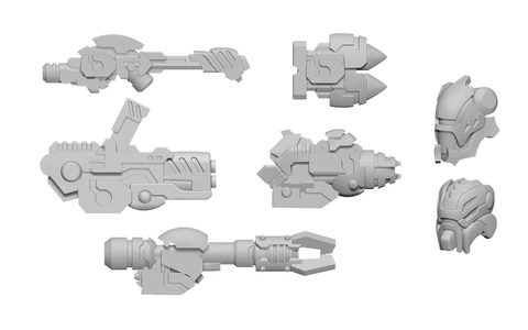 Scourge A Weapon Pack - Warcaster Aeternus Continuum Pack