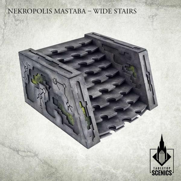 Nekropolis Mastaba - Wide Stairs
