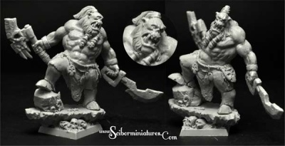28mm/30mm Orc Chief