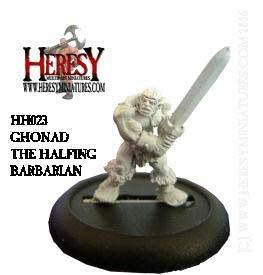 Ghonad, Halfling Barbarian