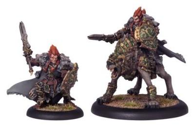 Circle Orboros Wolf Lord Morriag Character Dragoon