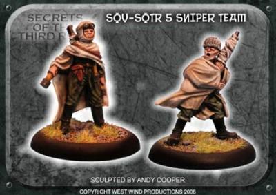 Soviet Sniper Team (2)