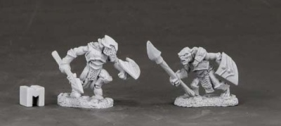 Armored Goblin Spearmen (2)