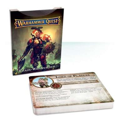 Warhammer Quest Widersacher-Karten für Chaosanhänger