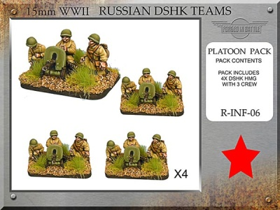 Russian Dshk HMG Teams (4)