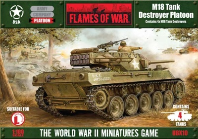 M18 Hellcat Tank Destroyer Platoon (4)