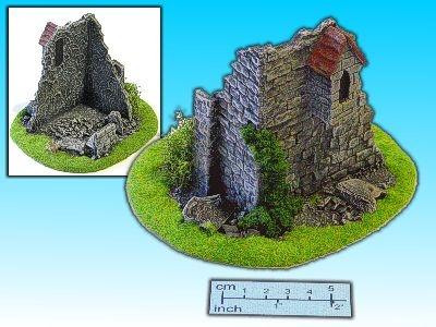 Geländestück Burgruine