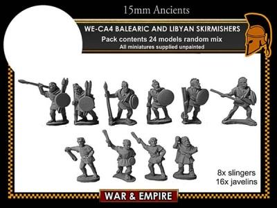 Carthaginian Balearic & Libyan Skirmishers