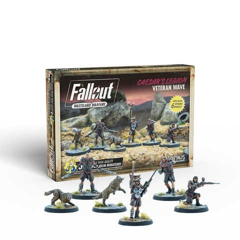 Fallout: Wasteland Warfare - Caesar's Legion: Veteran Wave