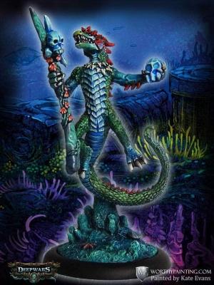 Draconid Sea Demon Shaman