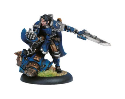 Mercenary Epic Warcaster Magnus the Warlord