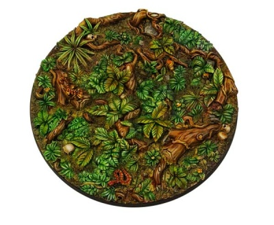 Jungle Bases round 100mm (1)