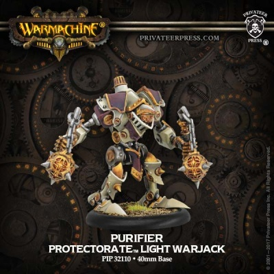 Protectorate Light Warjack Dervish/Devout/Purfiier (plastic)