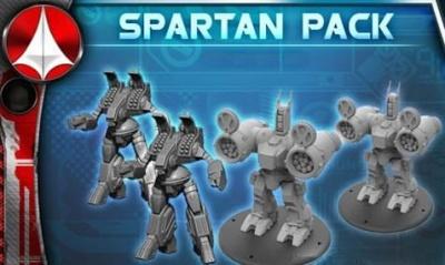 UEDF: Spartan/Phalanx Destroids