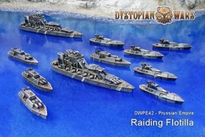 Prussian Empire Raiding Flotilla (11)