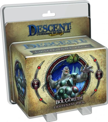 Descent Road to Legend Miniatures: Bol'Goreth The Troll