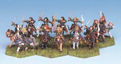 Wood Elf mounted Rangers (12)