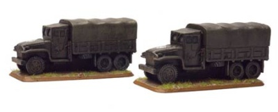 GMC 2 1/2 Ton truck  (2x Resin)