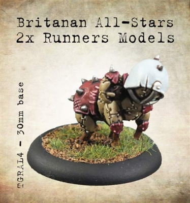 Britanan All-Stars Runners/Catchers (2)