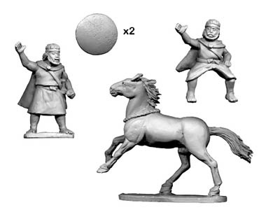Numidian Prince (Foot and Mounted)