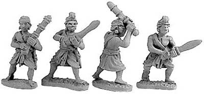 Indian Guardsmen & Clubmen (Random 4 of 4 designs