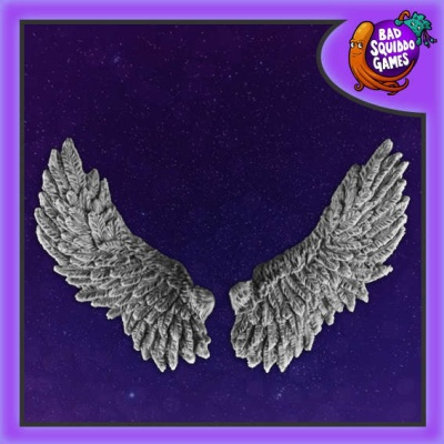 Feathery Wings (1 Pair)