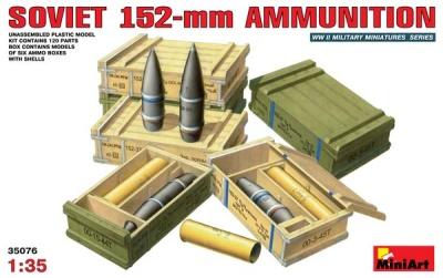 Sowjetische 152-mm Munition in 1:35