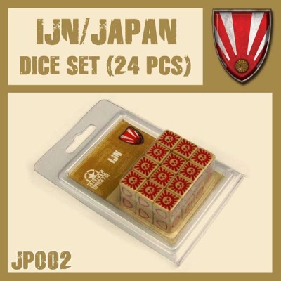 IJN/ Japan Dice Set (24)
