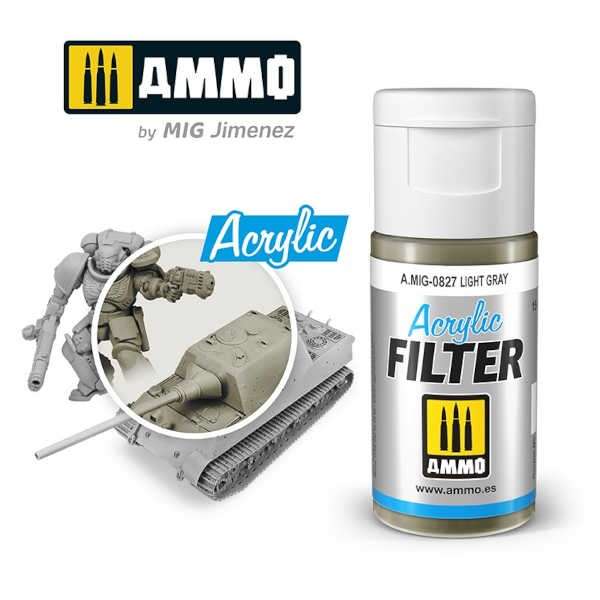 ACRYLIC FILTER Light Gray (15ml)