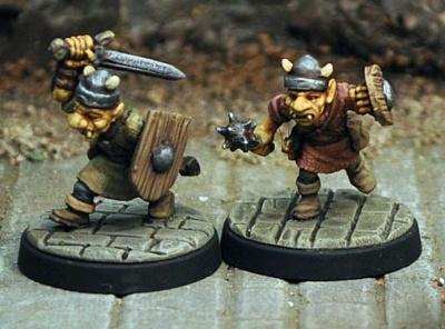 Goblins I (mace, sword)