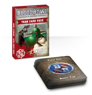 Blood Bowl Nurgle Cards (ENGLISCH)