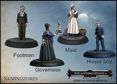 Victorian Servants Set 2 (4)