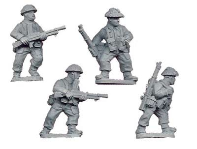 Late British Bren Gun Teams (4 figs)